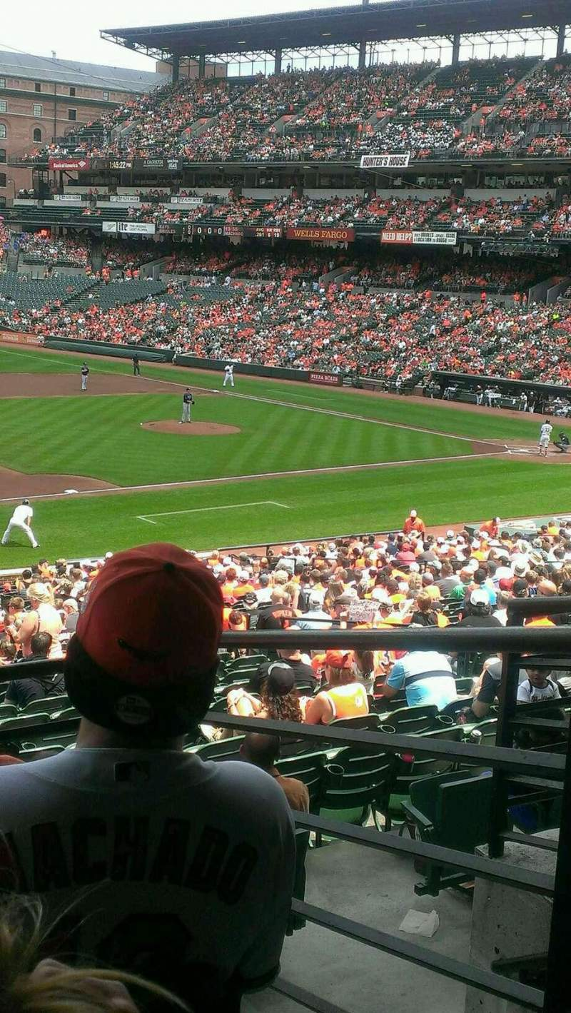 Seating view for Oriole Park at Camden Yards Section 59 Row 4 Seat 1-2
