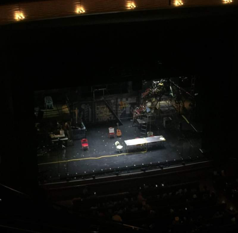 Seating view for Winspear Opera House Section UGT C Row H Seat 7