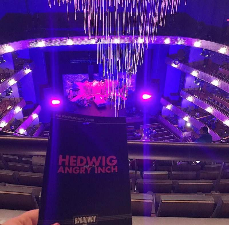 Seating view for Winspear Opera House Section UGT C Row H Seat 18