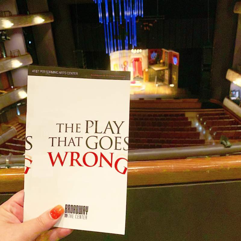 Seating view for Winspear Opera House Section Dress Circle Center Row A Seat 34