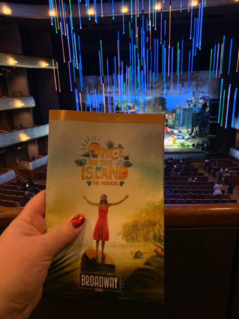 Seating view for Winspear Opera House Section Mezzanine Center Row A Seat 32