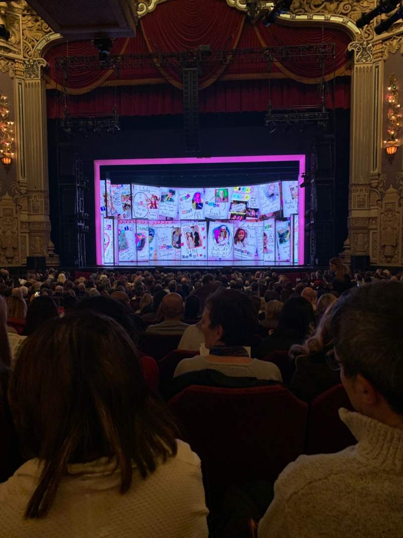 Seating view for James M. Nederlander Theatre Section Orchestra C Row W Seat 113