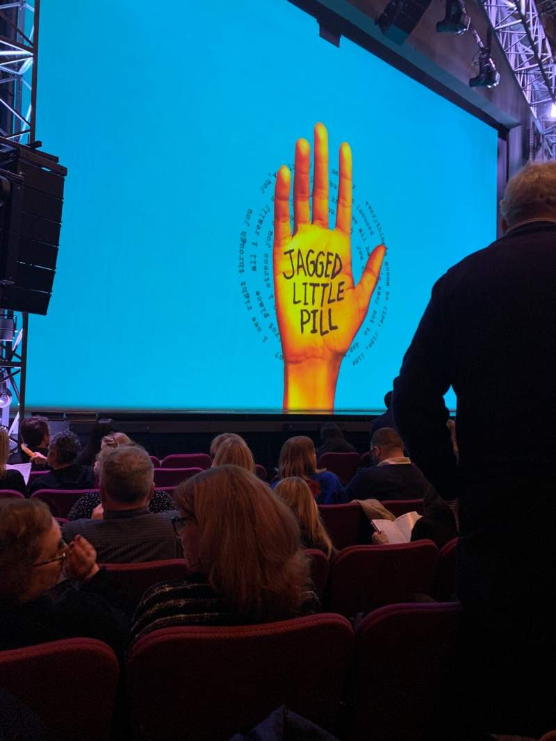 Seating view for Broadhurst Theatre Section ORCHO Row H Seat 13