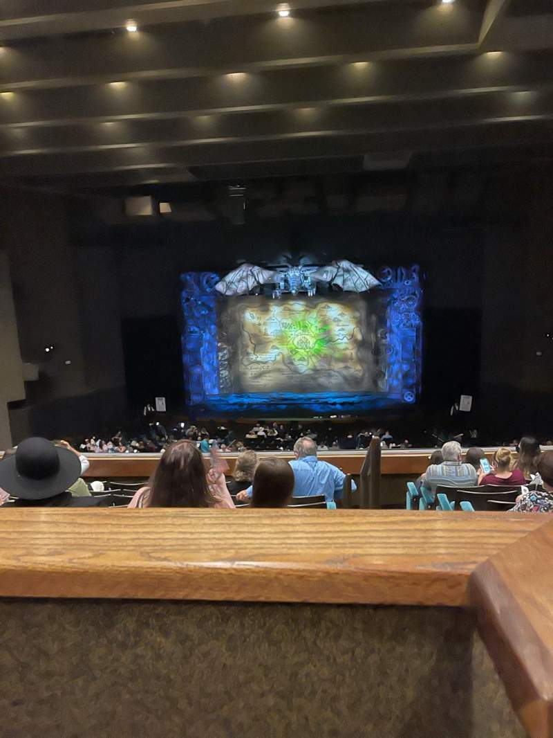 Seating view for Music Hall at Fair Park Section FF-BAL Row G Seat 3