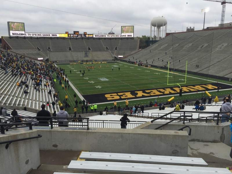 Seating view for Kinnick Stadium Section 219 Row 8 Seat 6