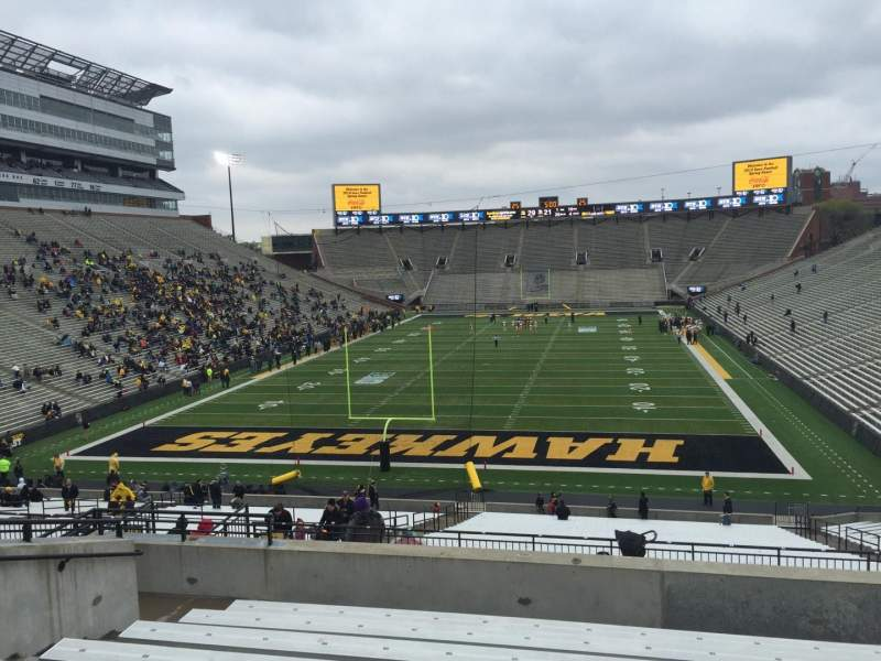 Seating view for Kinnick Stadium Section 215 Row 10 Seat 15