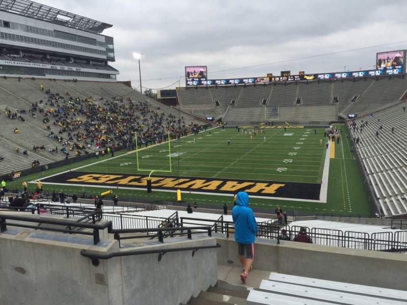 Seating view for Kinnick Stadium Section 214 Row 10 Seat 10
