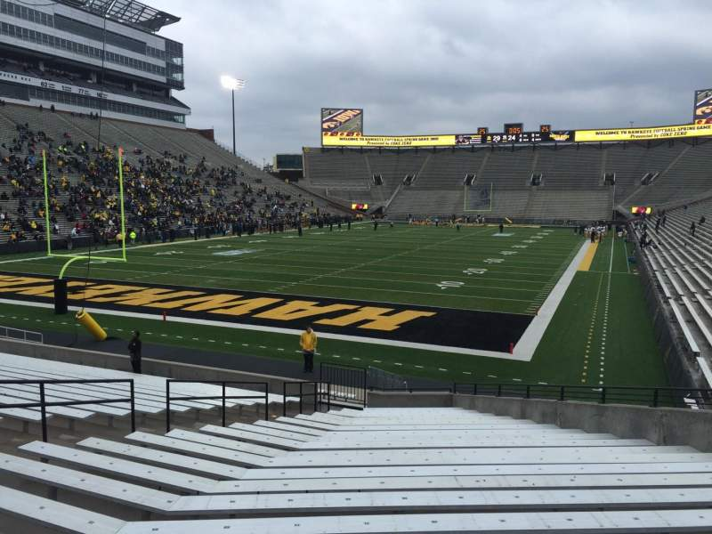 Seating view for Kinnick Stadium Section 113 Row 25 Seat 14