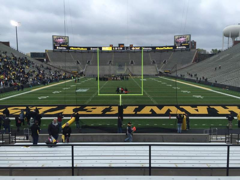 Seating view for Kinnick Stadium Section 116 Row 24 Seat 14