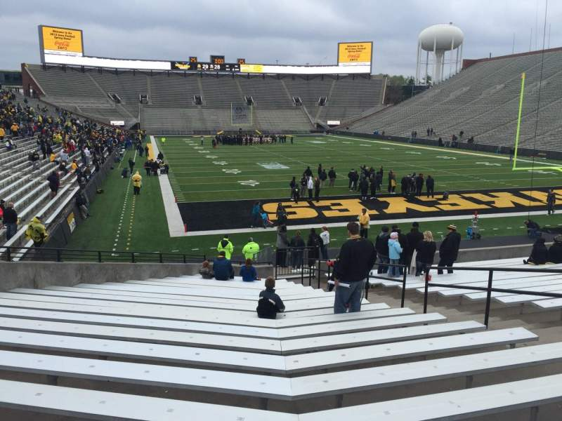 Seating view for Kinnick Stadium Section 119 Row 24 Seat 9