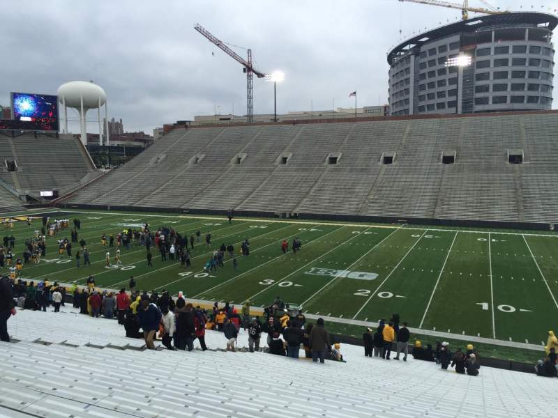 Kinnick Stadium, section: 124, row: 41, seat: 12