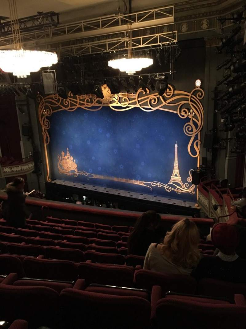 Seating view for Broadhurst Theatre Section Mezzanine R Row K Seat 26