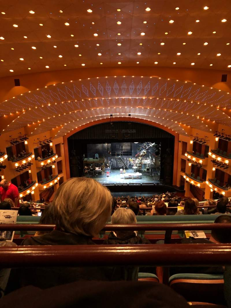 Seating view for Procter And Gamble Hall at the Aronoff Center Section Balcony C Row L Seat 218