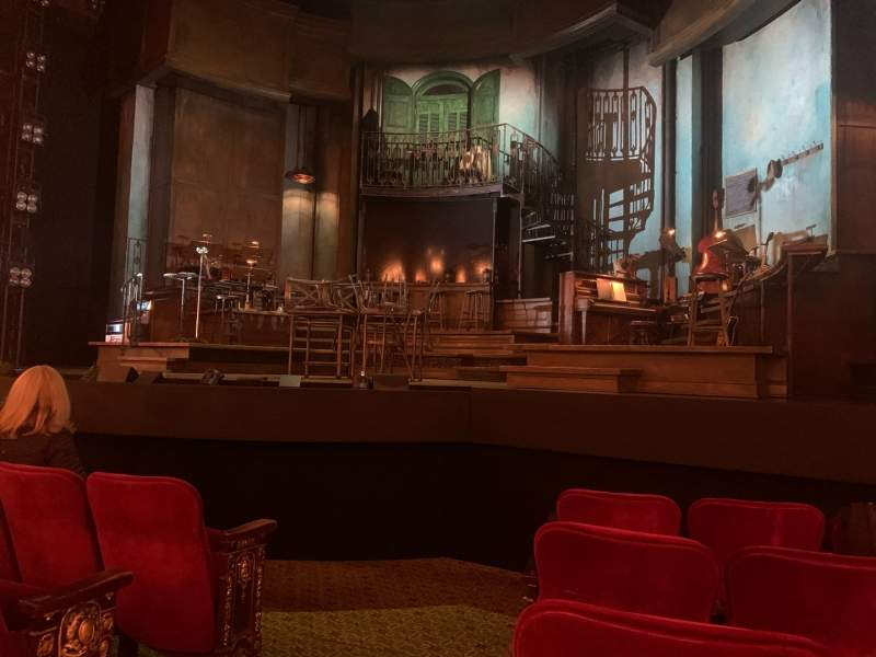 Seating view for Walter Kerr Theatre Section Orchestra R Row F Seat 2