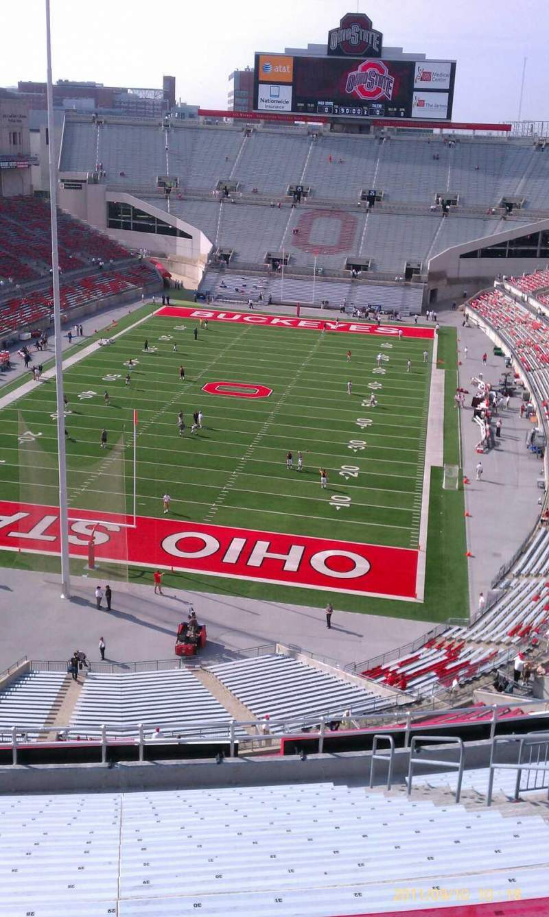 Seating view for Ohio Stadium Section 3c Row 18 Seat 34