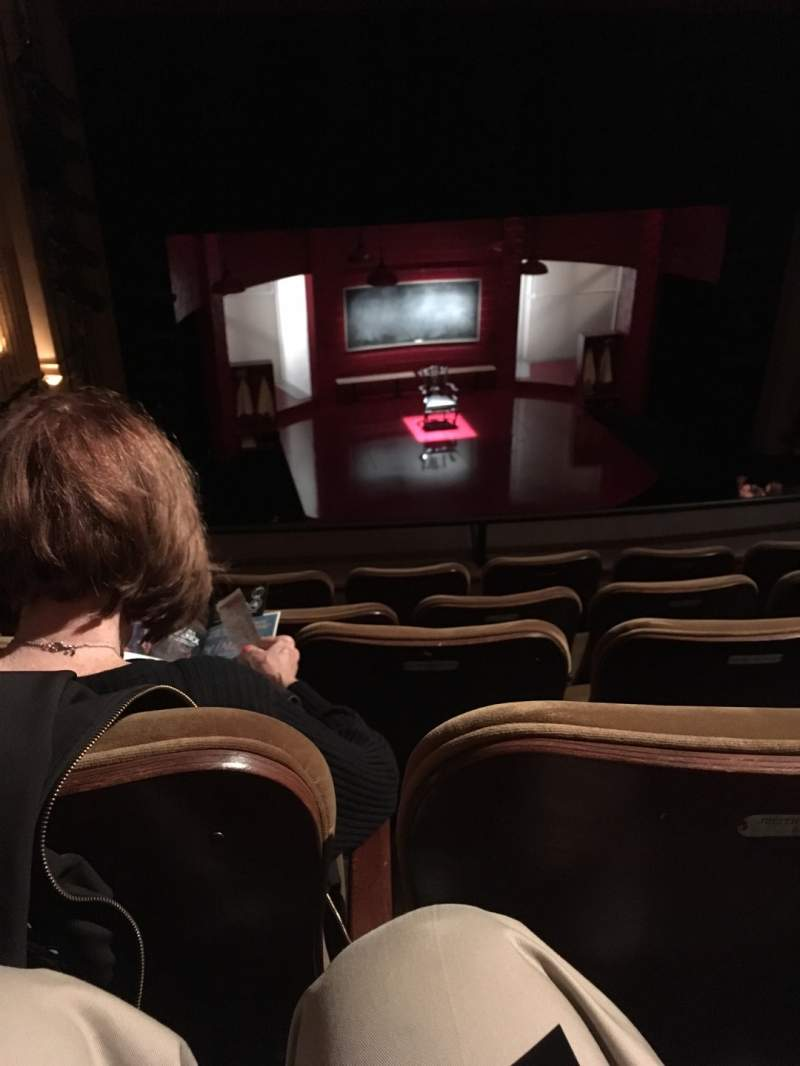 Seating view for Samuel J. Friedman Theatre Section Mezzanine C Row C Seat 102