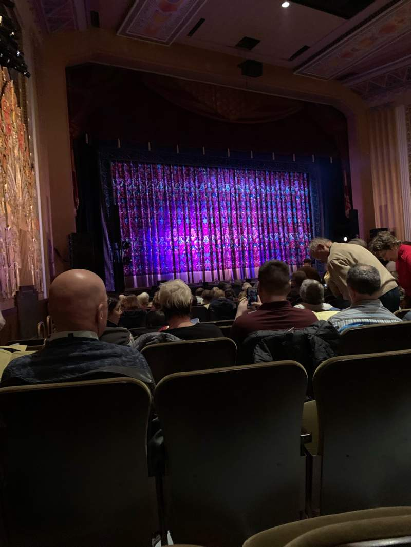 Seating view for Flynn Center for the Performing Arts Section Orchestra Left Row P Seat 20