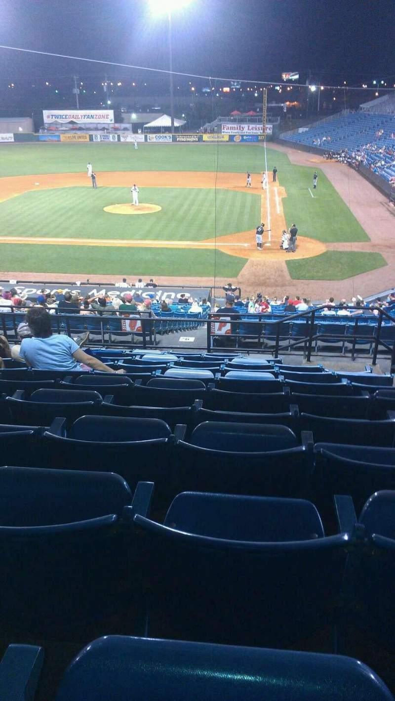 Seating view for Herschel Greer Stadium Section QQ Row 11 Seat 11