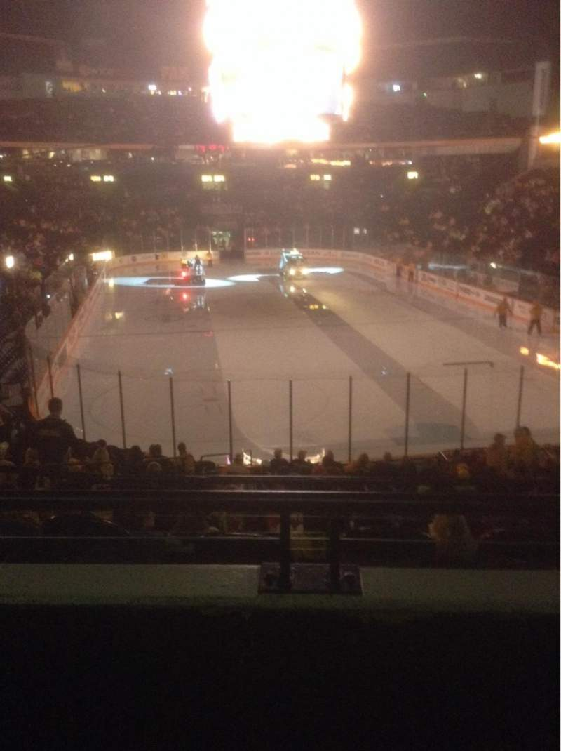 Seating view for Bridgestone Arena Section 120 Row J Seat 11
