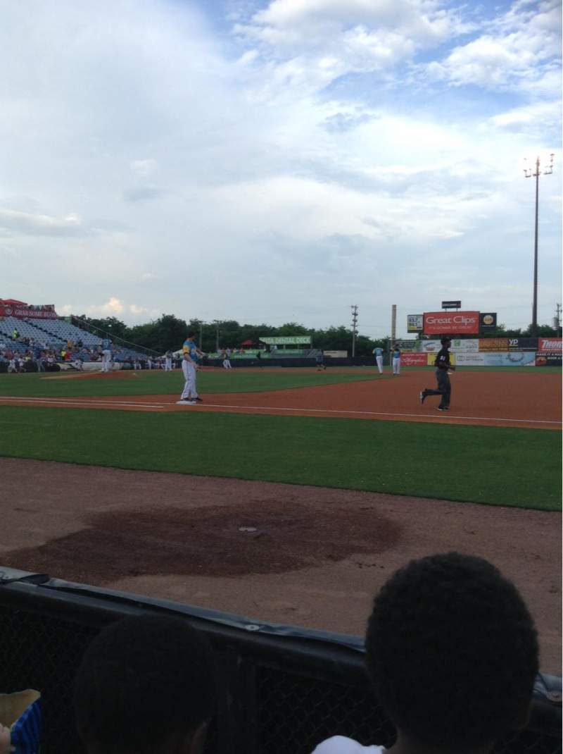 Seating view for Herschel Greer Stadium Section G Row 2 Seat 15