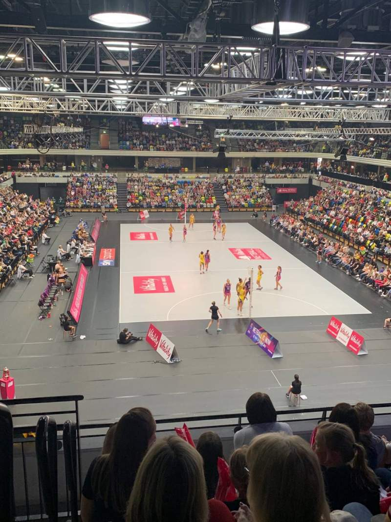 Seating view for Copper Box Arena Section 208 Row 16 Seat 69