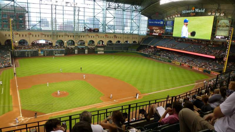 Seating view for Minute Maid Park Section 323 Row 5 Seat 1,2