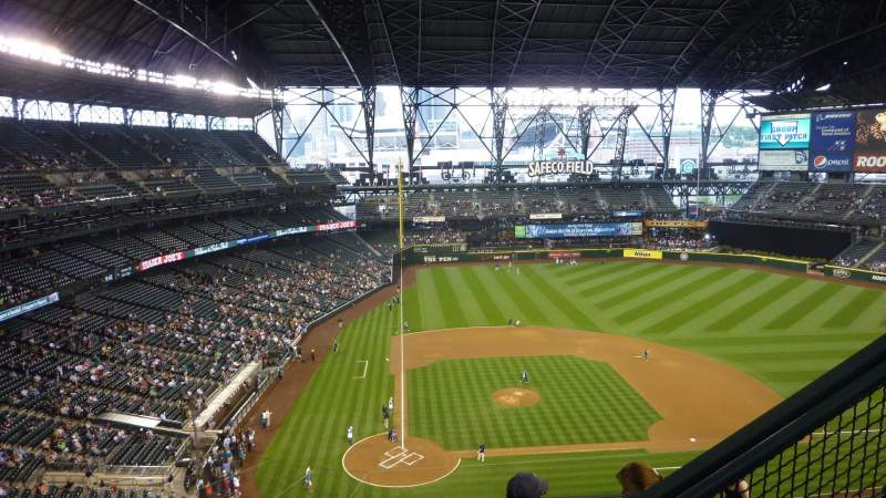 Seating view for Safeco Field Section 326 Row 9 Seat 4