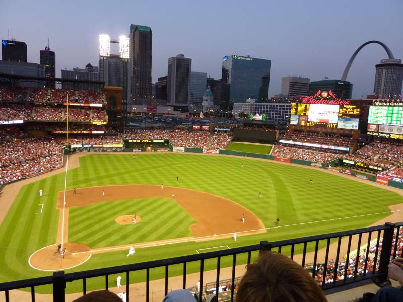 Seating view for Busch Stadium Section 346 Row 2 Seat 6