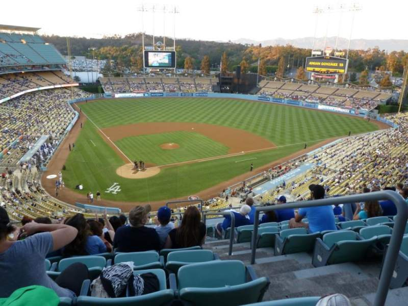 Seating view for Dodger Stadium Section 4RS Row K Seat 22