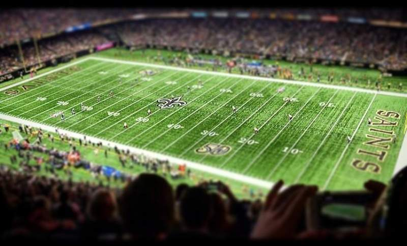 Seating view for Mercedes-Benz Superdome Section 635 Row 27 Seat 11