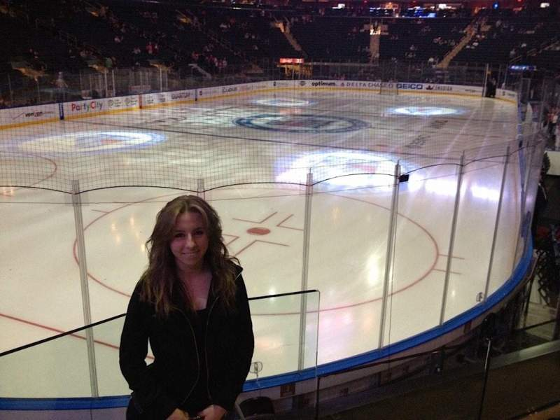 Madison Square Garden, section: 103, row: 14, seat: 16