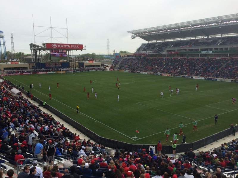 Toyota Park, section: 122, row: 25, seat: 5