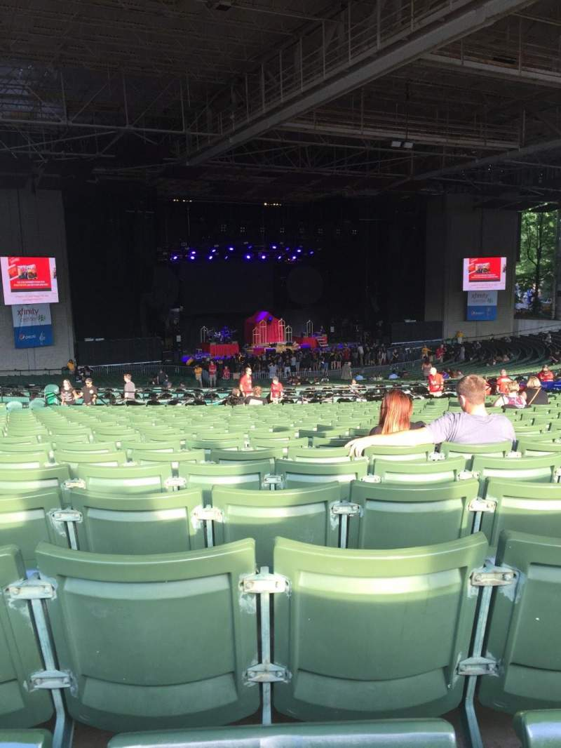 Seating view for Xfinity Center Section 7 Row X Seat 29