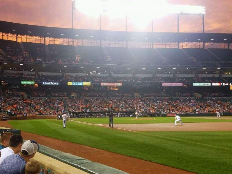 Seating view for Oriole Park at Camden Yards Section 12 Row 2 Seat 10