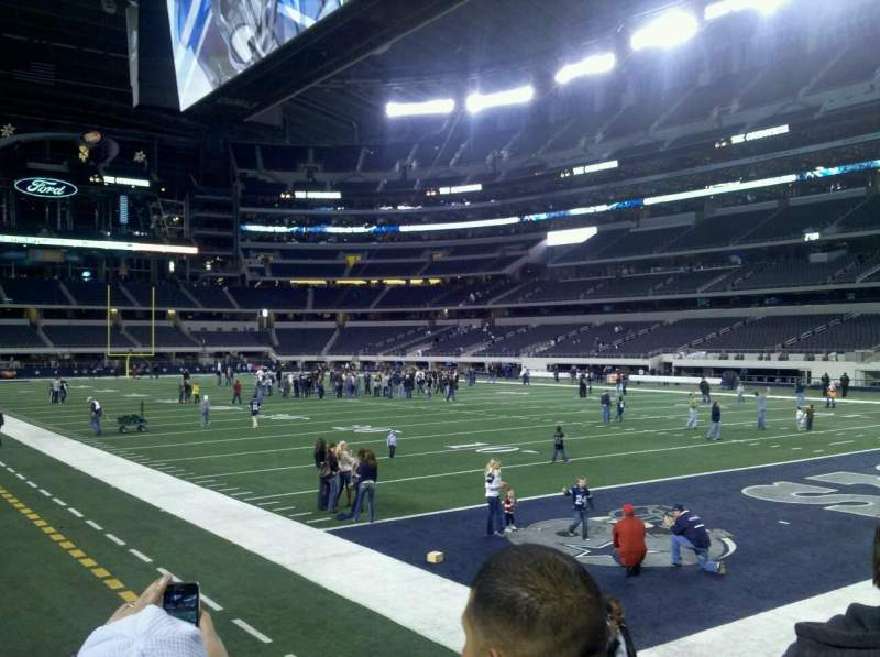 Seating view for AT&T Stadium Section 101
