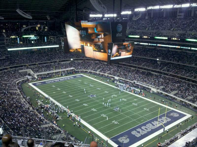Seating view for AT&T Stadium Section 401