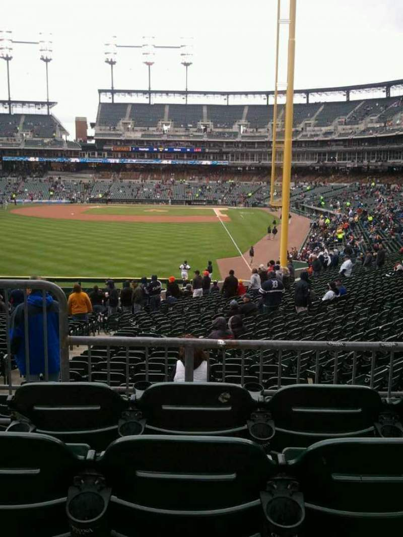 Seating view for Comerica Park Section 146 Row DD Seat 10