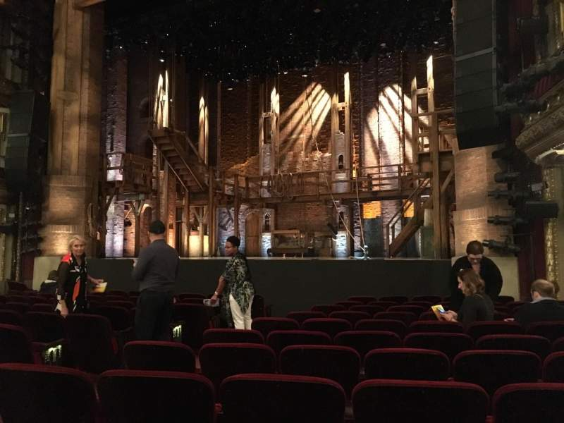 Seating view for CIBC Theatre Section Orchestra R Row M Seat 10