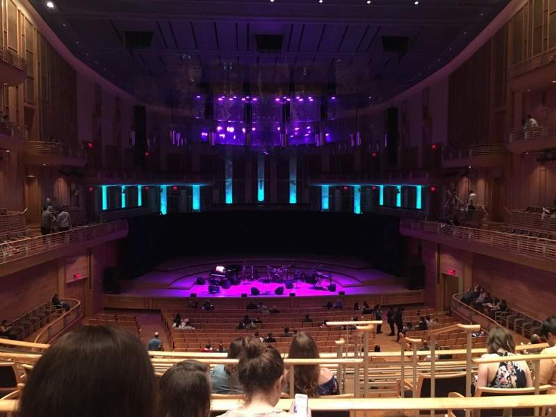Seating view for The Music Center at Strathmore Section Promenade Center Row C Seat 116