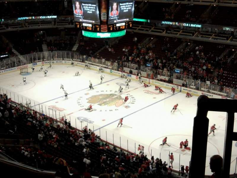 Seating view for United Center Section 314 Row 9 Seat 1