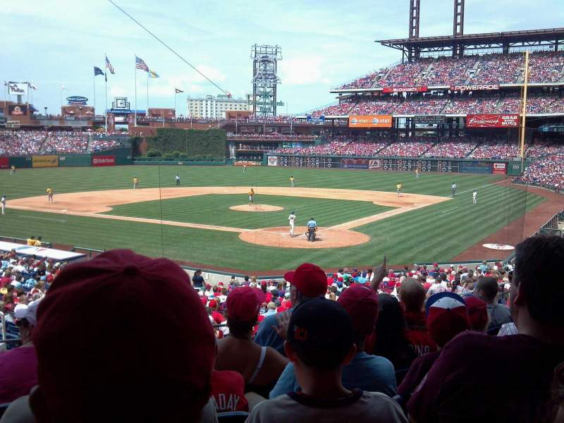 Seating view for Citizens Bank Park Section 125 Row 31 Seat 11