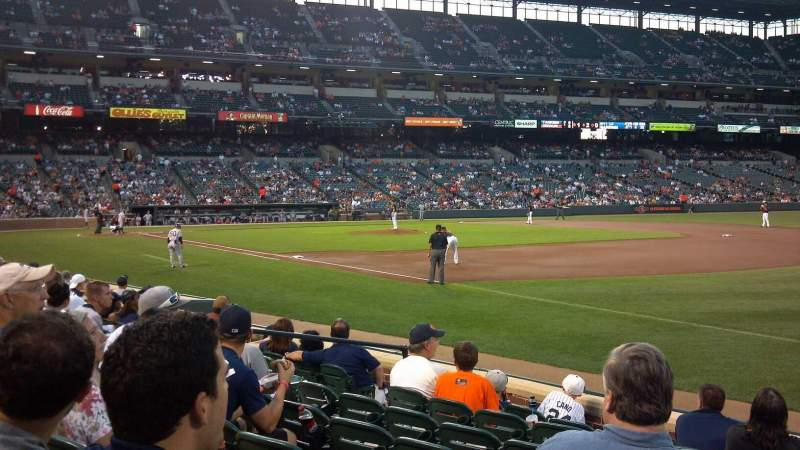 Oriole Park At Camden Yards Section 12 Row 8 Seat 12