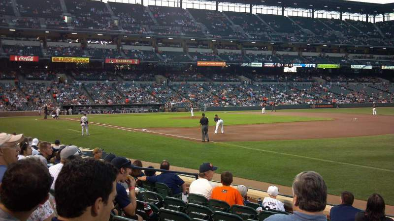 Seating view for Oriole Park at Camden Yards Section 12 Row 8 Seat 14