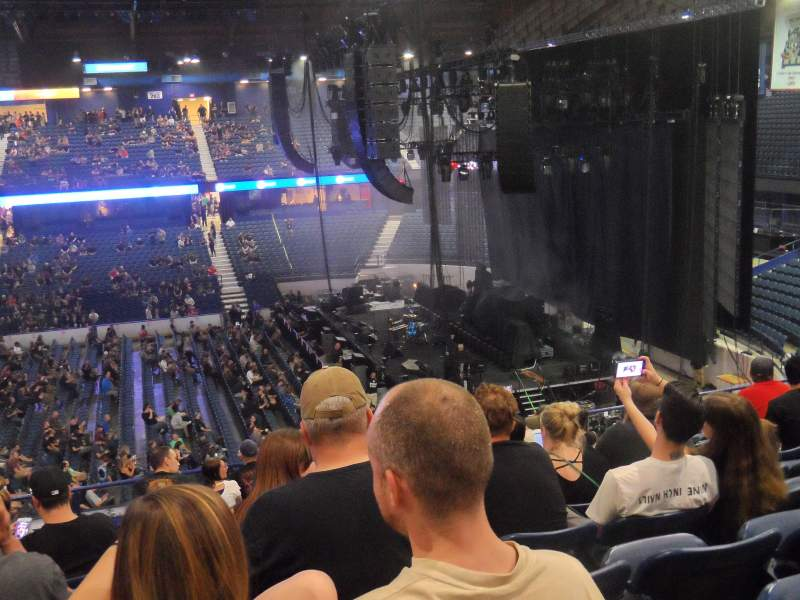 Allstate Arena, section: 210, row: L, seat: 12