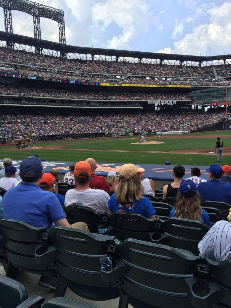 Seating view for Citi Field Section 112 Row 7 Seat 5