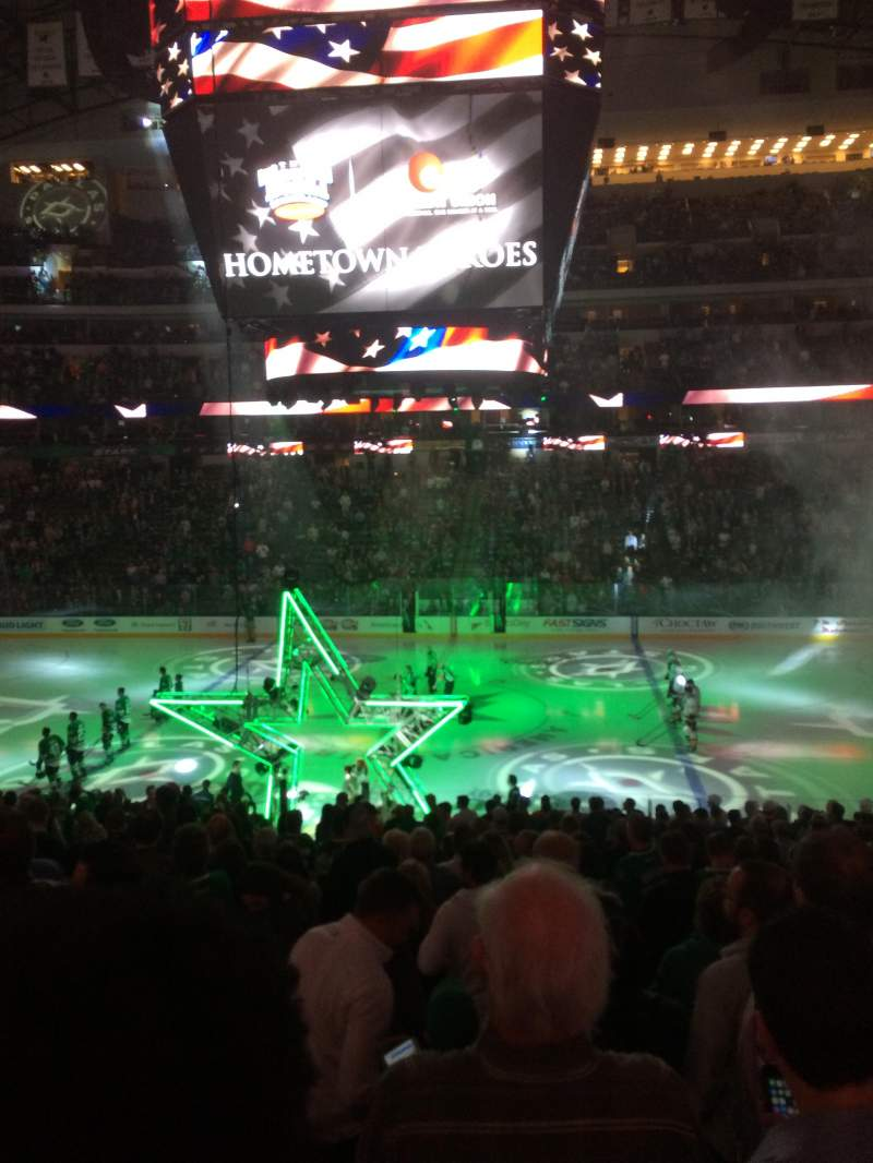 Seating view for American Airlines Center Section 118 Row Z Seat 8