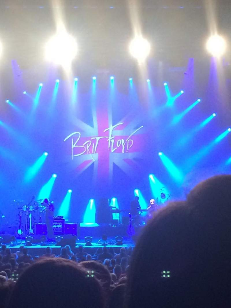 Seating view for Cobb Energy Performing Arts Centre Section C-Orch Row Z Seat 114
