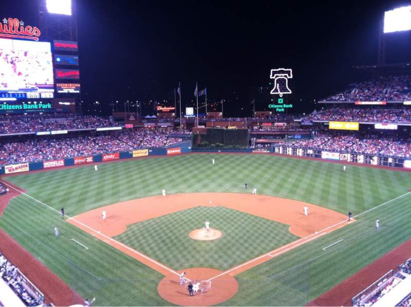 Seating view for Citizens Bank Park Section 420