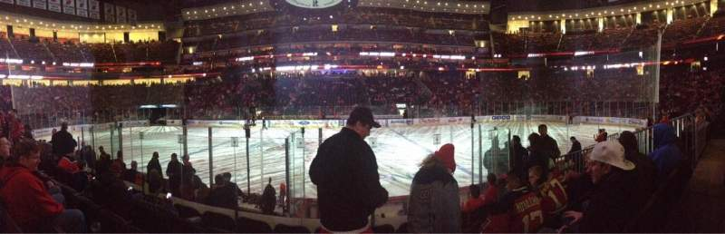 Seating view for Prudential Center Section 19 Row 7 Seat 8