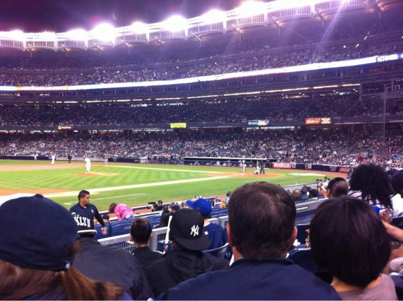 Seating view for Yankee Stadium Section 126 Row 15 Seat 10